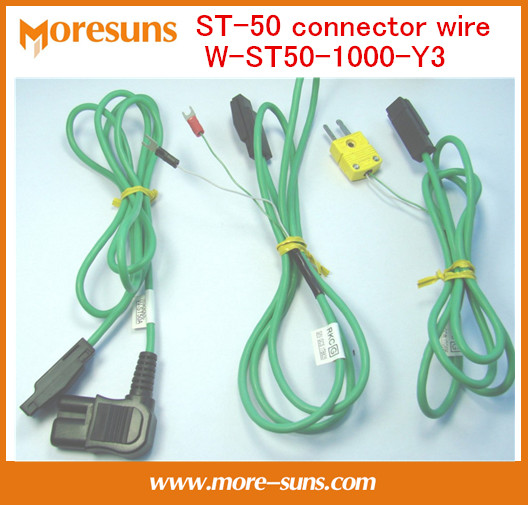 Fast Free Ship 3pcs/lot ST-50 connector wire W-ST50-1000-Y3 1 Meter Wire Harness