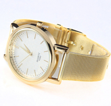 Splendid New Gold Classic Womens Quartz Stainless Steel Wrist Watch Lady Woman style Watches