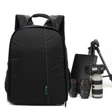Beautiful Gift New 1PC Camera Bag Backpack Waterproof DSLR Case with Carabiner for Canon Free Shipping Feb18