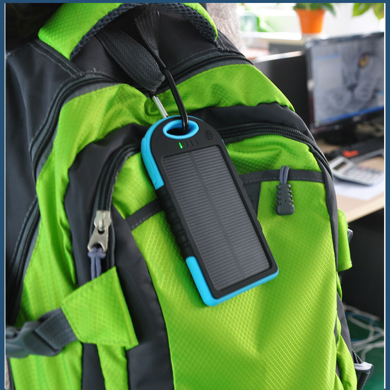 Best price Fashionable design portable backpack solar charger for mobile phone(China (Mainland))