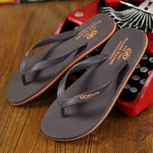 New 2016 Summer Rubber Fashion Flip Flops Hot Sale Men Flip-Flops Massage Beach Sandals Plus Size 39-44 RN101861-Free Shipping