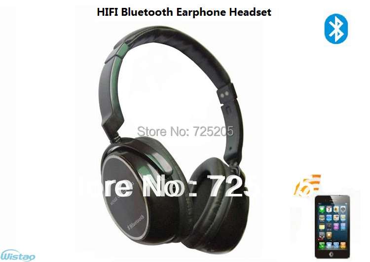 Free Shipping HIFI Bluetooth Earphone Stereo Headset Bluetooth 2.1 CVC Echo Cancellation TTS DSP  Clear Noise Reduction Effect  <br><br>Aliexpress