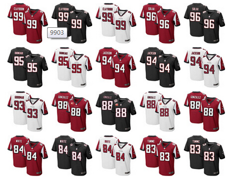 AAA,Atlanta Falcons,Deion Sanders,brett favre,Vick,Throwback for men(China (Mainland))