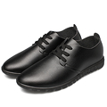 Men Shoes Leather ForU New 2015 Spring Autumn Casual leather shoes Lace up Shoes Oxford shoes