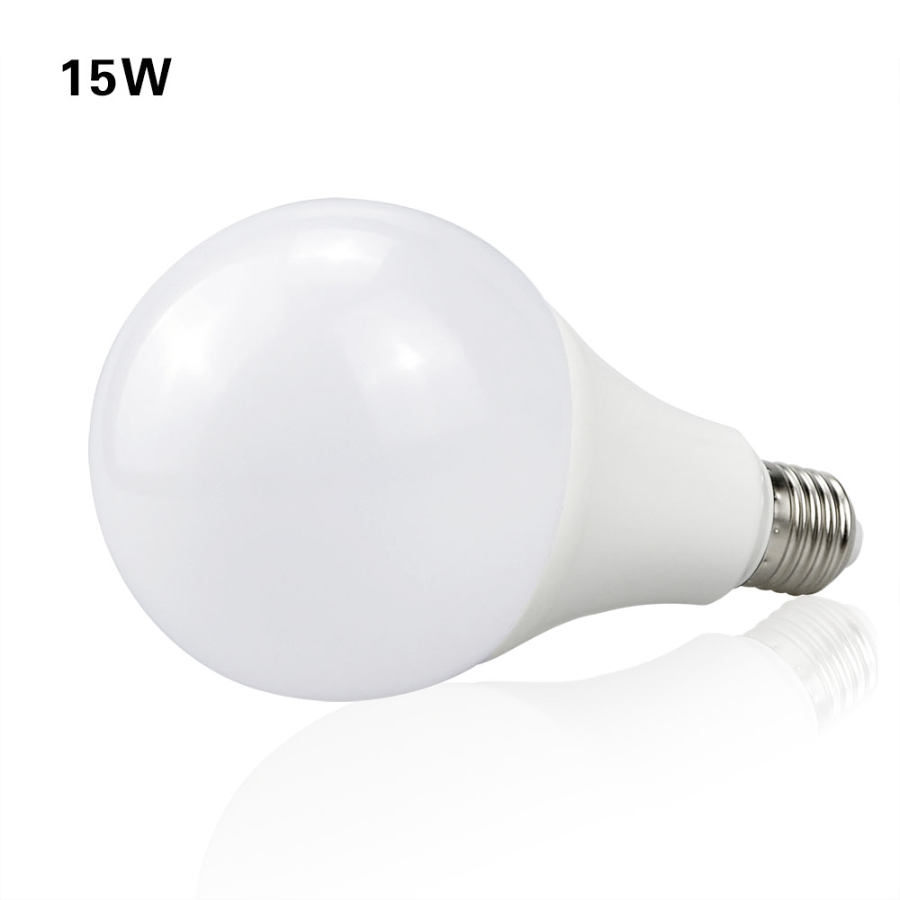 Full Watt 3W 5W 7W 9W 12W 15W LED Ball lamp E27 220V Aluminium Cooling light 2835SMD With Smart IC Driver LED Bulb Home lighting(China (Mainland))