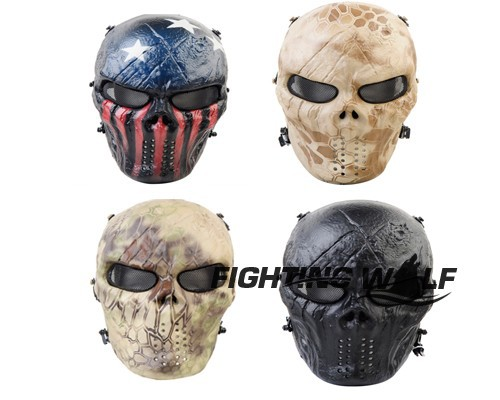 Durable Chief MO6 ABS+ Metal Full Face Mask Mesh Eye Protection Paintball Accessories Mask for Outdoor Airsoft Tactical Sport*(China (Mainland))
