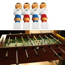 Free Shipping 4pcs Rod Foosball Soccer Table Football Men Player Replacement Parts #gib(China (Mainland))
