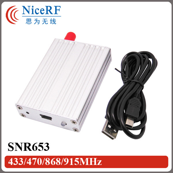 2pcs/pack SNR653 470MHz 3km Long Range Wilreless Data Transmitter and Receiver Module with USB Interface(China (Mainland))
