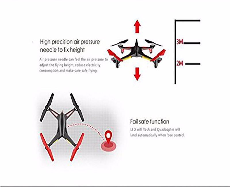 XK X250B Wifi UFO 2.4G 6-Axis Gyro RC Headless Quadcopter With 0.3MP FPV Real-Time Camera Helicopter Drone