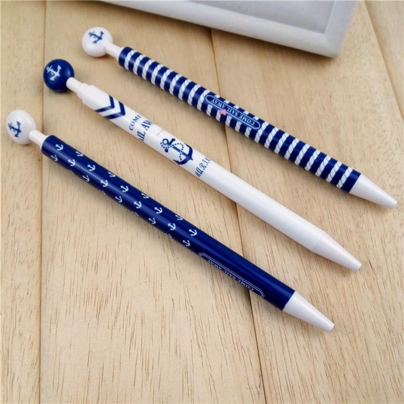 40pcs/Lot Korean Stationery Cute Navy Mechanical Pencil 0.7mm Kawaii Pencils Set for Student Kids Office School Supplies(China (Mainland))