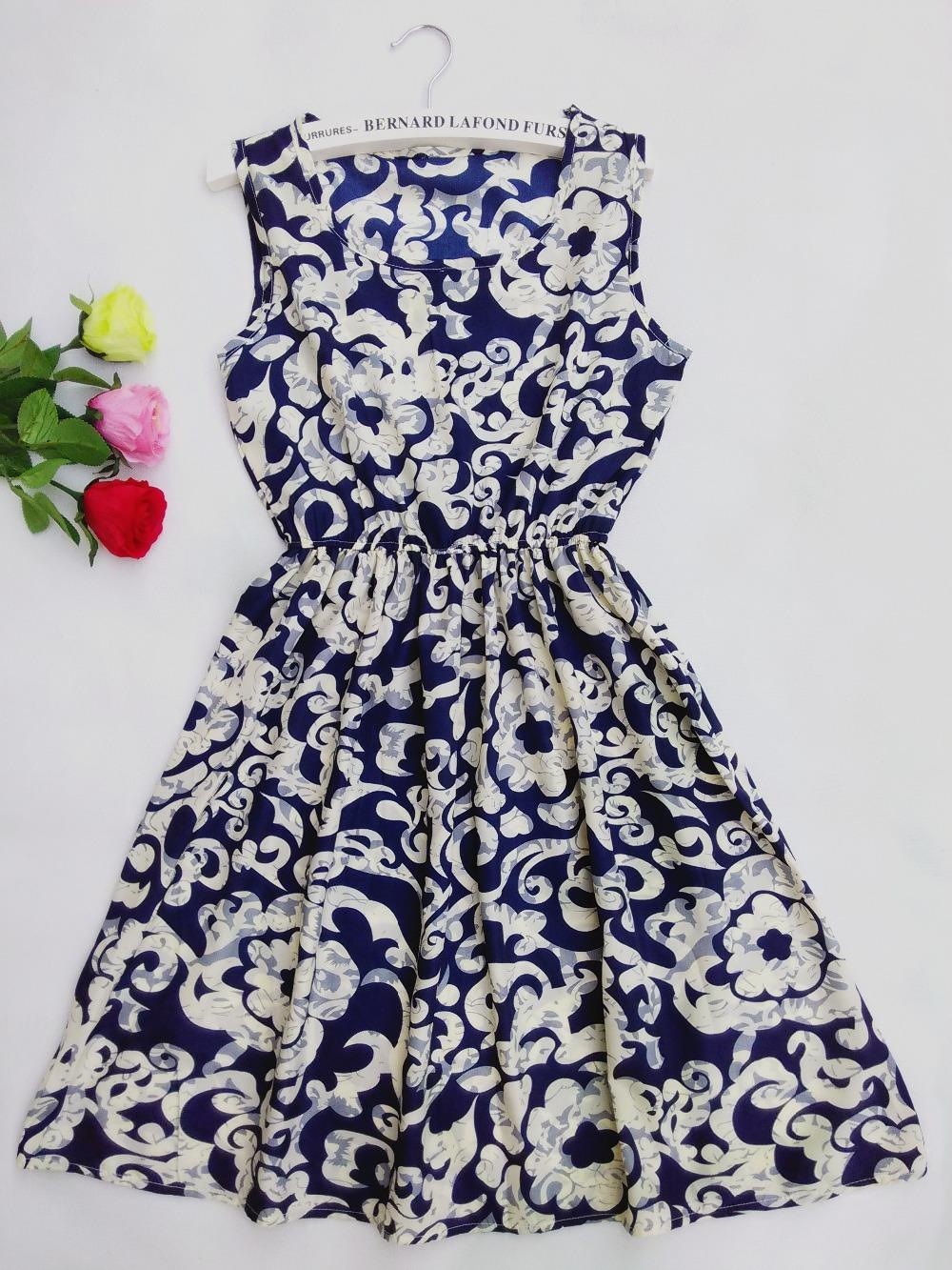 Шаблоны летние платья