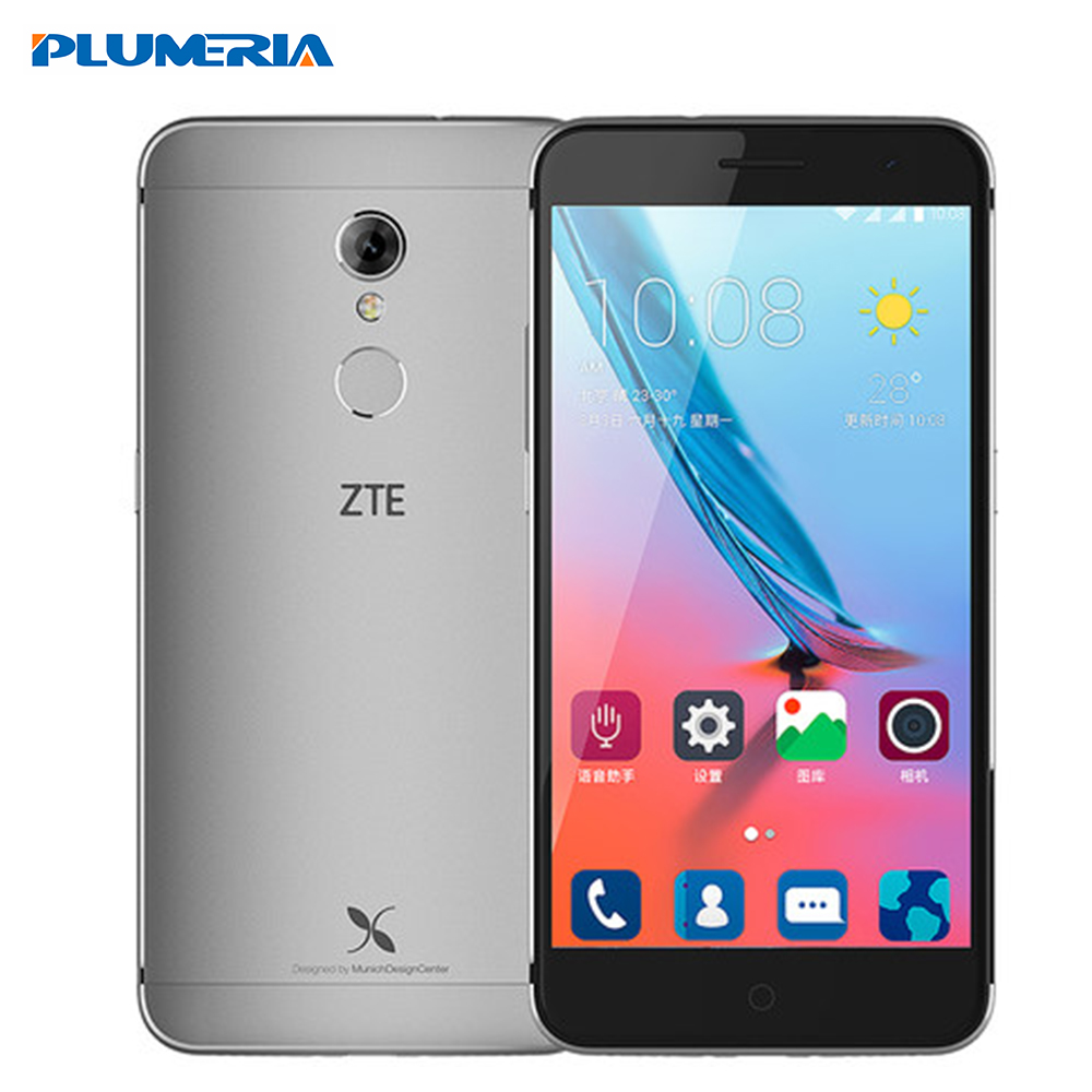 Original ZTE Xiaoxian 4 Mobile phone 5.2 inch 4G LTE BV0701 Octa Core MT6735 1.3GHz 13.0MP Camera 2GB RAM 16GB ROM Fingerprint(China (Mainland))