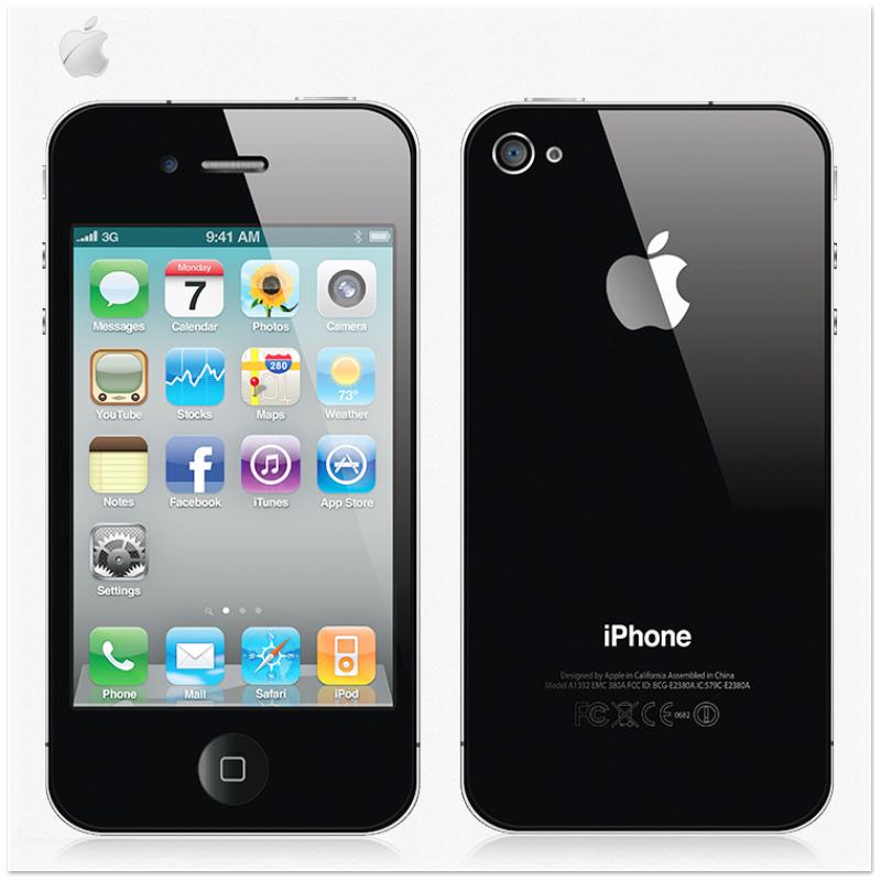 Original Unlocked Apple iPhone 4 Smart Phone IOS7 8GB/16GB/32GB 3.5'' IPS 5MP Camera 3G Mobile Phone Wifi Used Cellphone(China (Mainland))