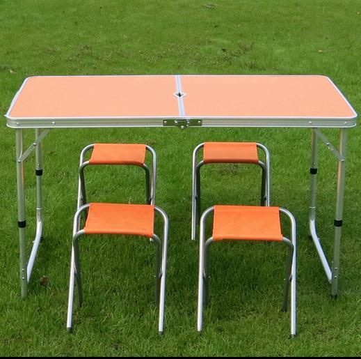 Здесь можно купить  120x60x70cm Outdoor Folding Picnic Table and Chair,Folding portable picnic table,1 table ,4 chairs,10kg  Мебель