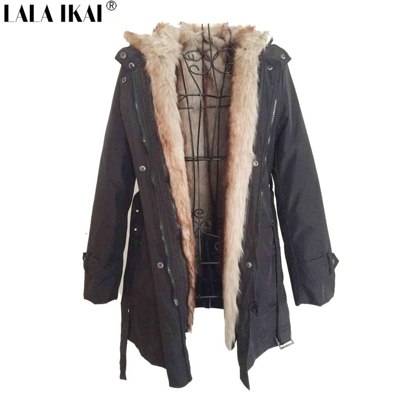 Womens Fur Parka Coat
