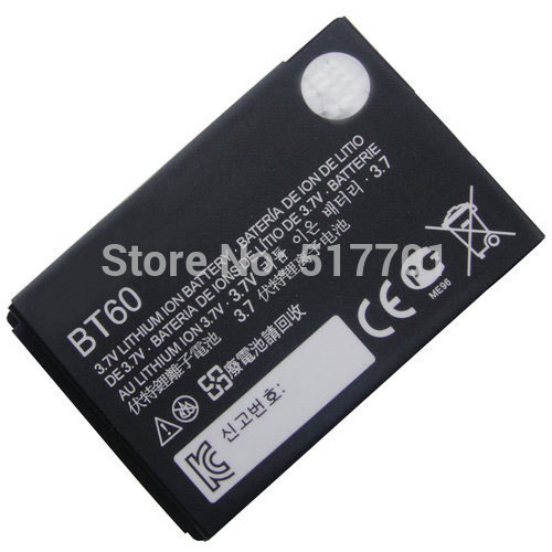 Free shipping high quality mobile phone battery BT60 for Motorola ME511 ME502 Q8 V360 V361i V980 C975 E1000 A732 C168 C168i V191(China (Mainland))