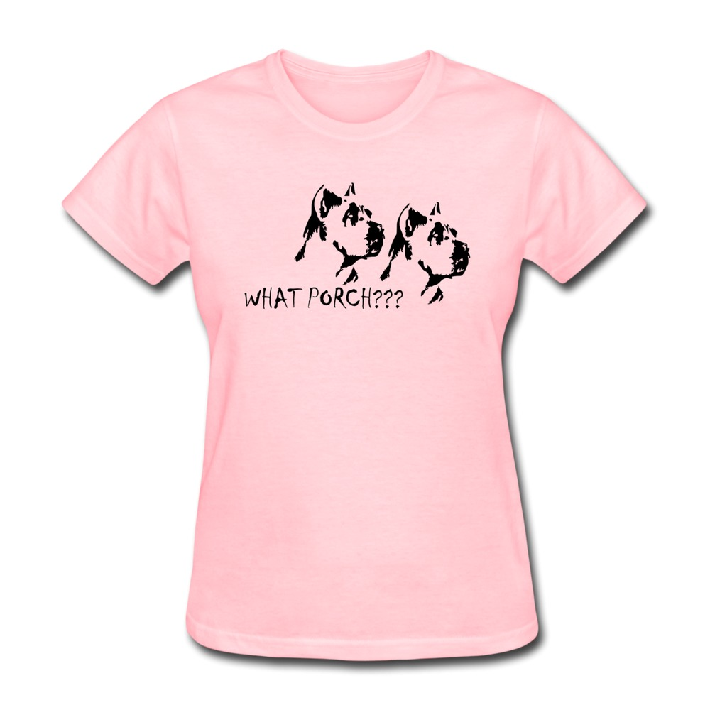 Womens t shirt o neck off the porch custom your own short for Custom t shirts design your own