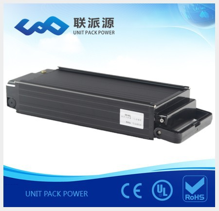 High power rear rack 48v 15Ah ebike lithium battery+charger(China (Mainland))