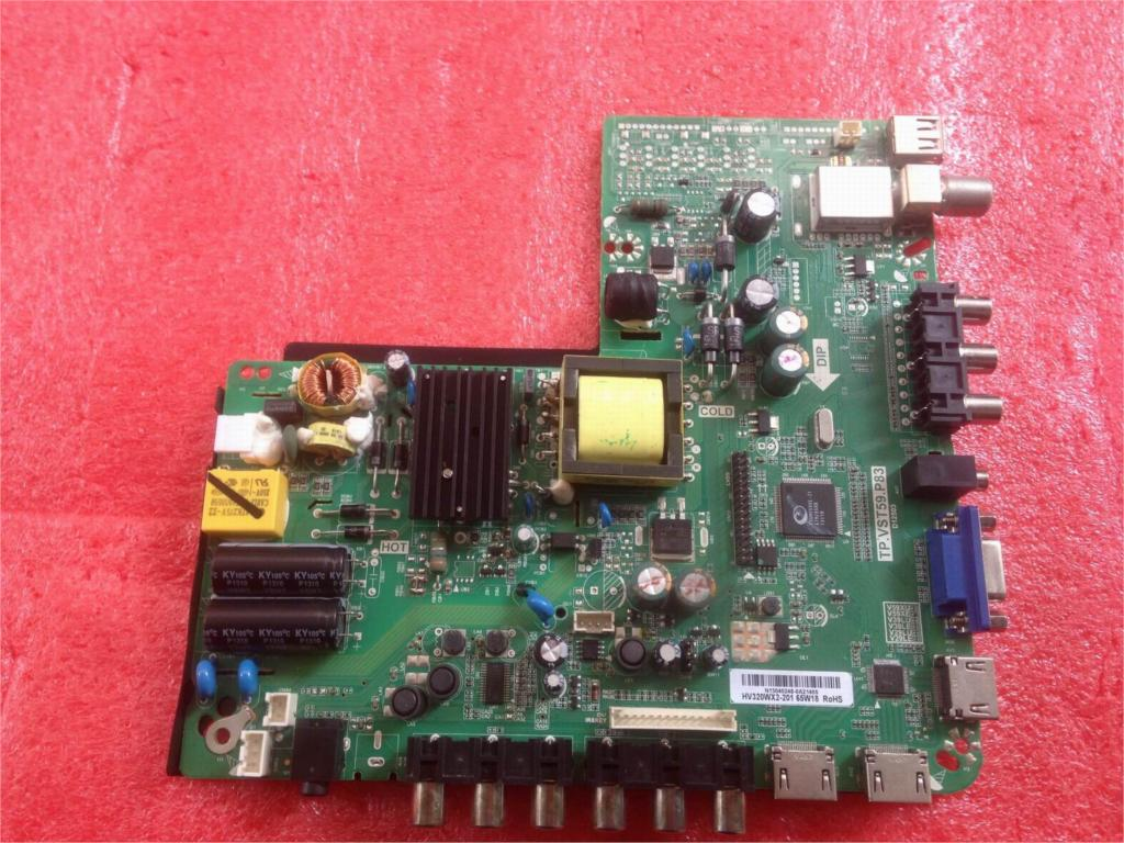 Фотография 32CE420BLE Board TP.VST59.P83  HV320WX2-201 Used disassemble