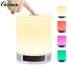 Buy Multi-function Digital LED Alarm Clock TF Card Wireless Bluetooth Speaker Smart LED Night Light Table Lamp Alarm Clocks Mic for $22.99 in AliExpress store