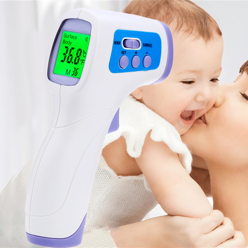 PC868 Professional Digital LCD Infrared Thermometer Non-contact IR Temperature Measurement Laser Gun Diagnostic-tool Device(China (Mainland))
