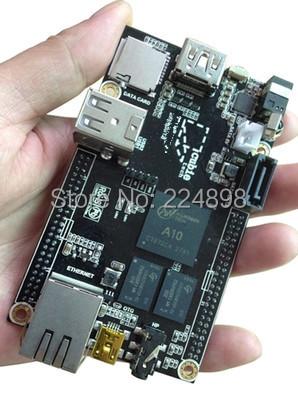 Cubieboard 1GB ARM Cortex-A8 Development Board Allwinnwe A10 Processor Integrated Circuits(China (Mainland))