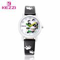 KEZZI New Brand Casual Watch Children Cute Cartoon Panda Pattern Sweet Style Quartz Wristwatch Popular Kids