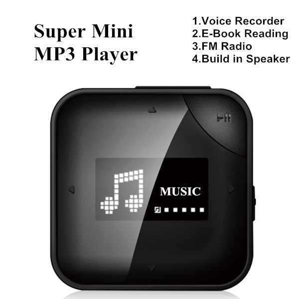 Onda VX330 MP3 Player with 4GB Storage With Voice Recorder / E-Book Reading / FM Radio / Build in Speaker(China (Mainland))