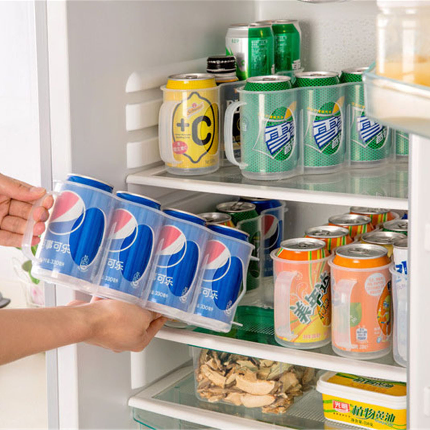 Soft Drink Can Refrigerator Organiser