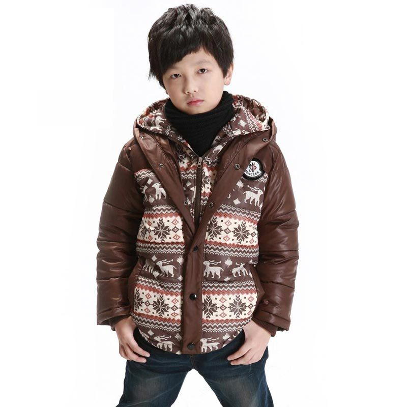 boys' wadded jacket outerwear/ child elizabethans cotton-padded jacket /2014 winter thickening down jacket(China (Mainland))