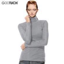 Buy Women High Collar Tops Fashion Long Sleeve Turtleneck Tees T shirts Womens Keep Warm Bottoming Shirt Pullover 4XL 5XL 6XL K-7095 for $9.19 in AliExpress store
