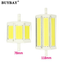 Buy COB R7S LED Lamp 9W 15W 78mm 118mm LED R7S Light Bulb AC85-265V Replace Halogen Light spot light r7s 78 r7s 118 for $6.45 in AliExpress store