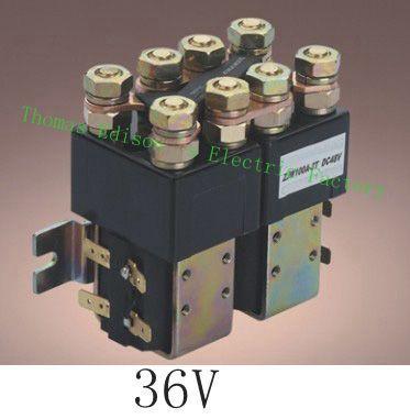 ZJW100JT SW822 Coil Voltage 36V 100A DC Contactor for PUMP motor forklift electromobile grab wehicle car<br><br>Aliexpress