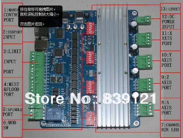Usbcnc Engraving Machine Stepper Motor Controller Driver