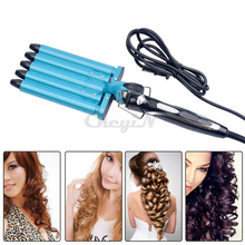 Pro Nano Titanium 5 Barrels Five Pipe Joint Big Hair Wave Waver Ceramic Curler Curl Curling Irons Hairstyle Tools HS11-P4748(China (Mainland))
