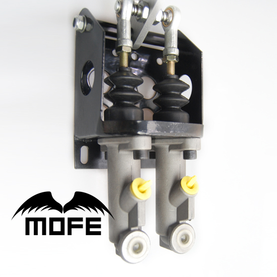 "Фотография MOFE 30cm Handle Hydraulic Drift Handbrake Hand Brake With 0.75"" Dual Master Cylinder Black"