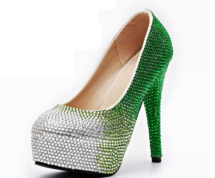 buy wholesale prom shoes green from china prom