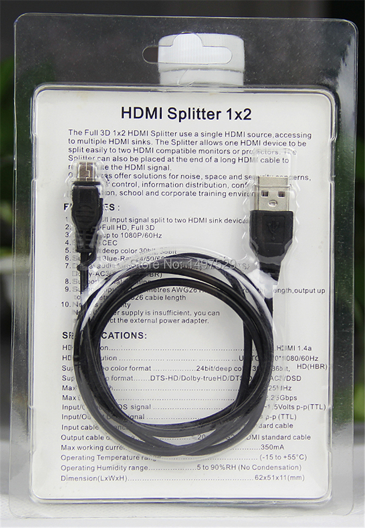 3D HDMI Extender by Single Cat