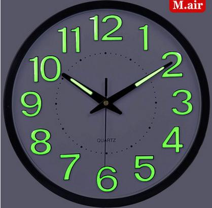 Aliexpresscom Buy Led wall clock large decorative wall