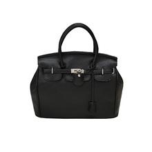 1pc/lot Hotsell Celebrity Girl Faux Leather Handbag Tote Shoulder Bags Casual Handbag 640151