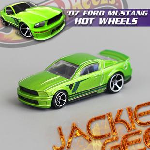 Free shipping Hot wheels 2007 Mustang Super Alloy Car Mordel Toy No.229(China (Mainland))