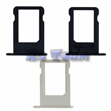 Buy Hot Selling High SIM Card Tray Apple iPhone 5 5G Black Silver Sim Card Tray Slot Holder Replacement Parts for $1.05 in AliExpress store