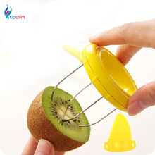 Hot Sale Cooking Tools Kitchen Fruit Kiwi Cutter Device Cut Digging Core Twister Slicer Kitchen Peeler To Kitchen Accessories(China (Mainland))