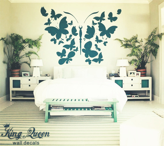 Beautiful Wall Stickers For Bedrooms Interior Design Photos Home - Interior design wall stickers