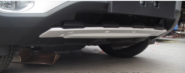 Quality 2010 CRV Front Rear Skid Plate bumper protector guard replacement Car Body Parts Free Shipping