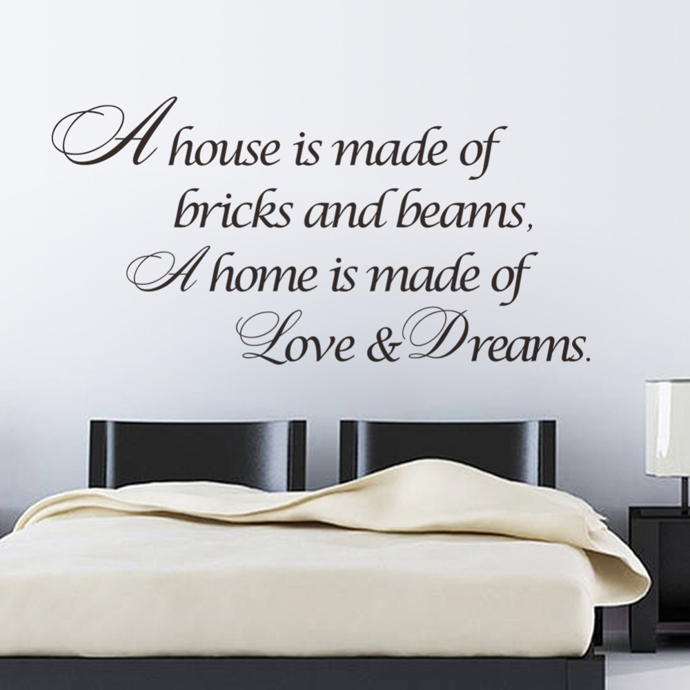 Online buy wholesale dream love quotes from china dream for Decoration quotes