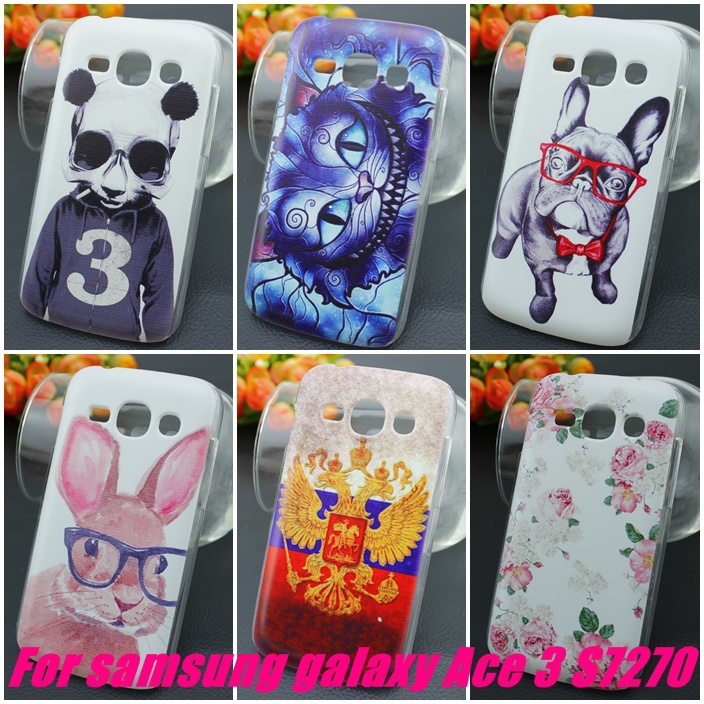 Top Quality For Samsung Galaxy Ace 3 S7270 S7272 S7275 S7278 PC Hard Back Cover(China (Mainland))