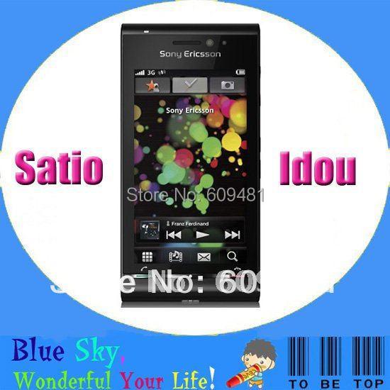Original cell phone Sony Ericsson Satio Idou U1i 12MP Camera GPS WIFI Smart phone