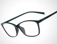 I bright 2015 Fashion Men Women 8145 Geek Big Frame Prescription Myopia Glasses Multi color Reading