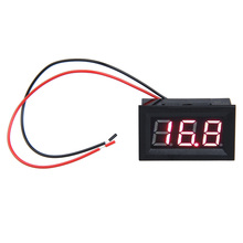 LCD DC 3.2-30V Red LED Panel Meter Digital Voltmeter with Two-wire   MTY3